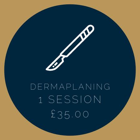 DERMAPLANING 1 SESSION £35.00