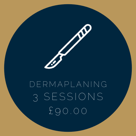 DERMAPLANING 3 SESSIONS £90.00