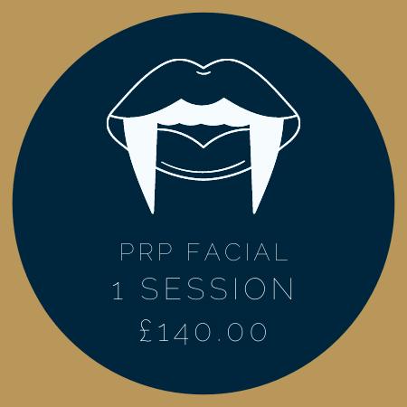 PRP FACIAL 1 SESSION £140.00
